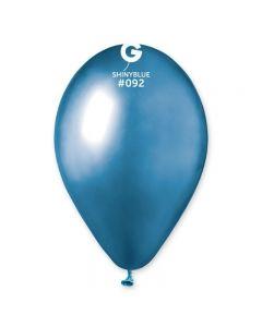 Baloane latex albastre lucioase 33 cm 10 buc, cod 120.92