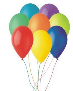 Balon neinscriptionat din latex cu heliu, cod BLA01