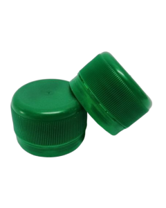 Capac prefiletat din plastic 28 mm verde, cod DC01 verde