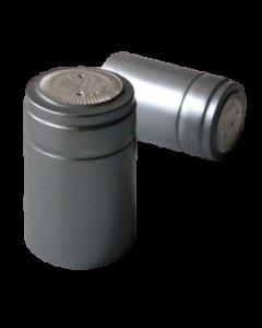 Capison termocontractabil argintiu 30*55 mm, cod DC05 argintiu