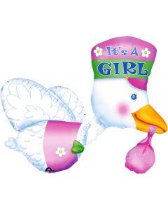 "Folie Barza ""It's a girl"", cod 07026"