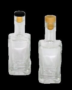Sticla 250 ml Patrata, cod ST269