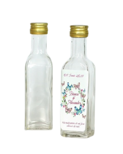 Sticla 100 ml Cognac Flint, cod ST103